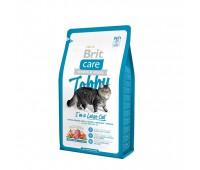 Brit Care Cat Tobby гипоаллергенный беззерновой корм с уткой и курицей для взрослых  кошек крупных пород