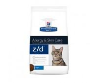 Hill's Prescription Diet z/D для кошек для лечение острых пищевых аллергий