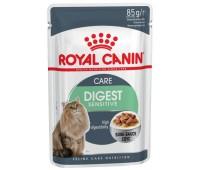 Royal Canin Digest Sensitive 9 для Кошек с Чувствительным Пищеварением пауч 85гр*12шт в соусе