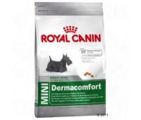 Royal Canin Mini Dermacomfort Корм для собак с раздраженной и зудящей кожей
