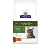 Hill's Prescription Diet для улучшения метаболизма (коррекции веса) у кошек, Feline Metabolic