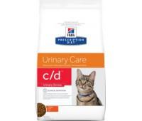"Hill's Prescription Diet c/D для кошек ""Профилактика МКБ при стрессе"", Feline Urinary Stress"