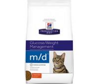 "Hill's Prescription Diet m/D для кошек ""Лечение сахарного диабета"""