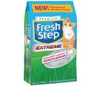 Fresh Step Extreme (Фреш Степ) - впитывающий наполнитель с тройным контролем запахов 15.87кг