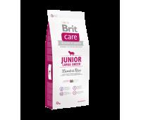 Brit Care Junior Large Breed Lamb & Rice Брит для щенков крупных пород Ягненок и рис