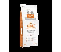 Brit Care Adult Medium Breed для Собак Средних Пород с Ягненком