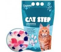 """Cat Step """"Лагуна"""" наполнитель силикагелевый 3,8л. (1,63кг)"""