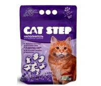 """Cat Step Силикагель """"ЛАВАНДА"""" 3,8л (1,67 кг) наполнитель для кошачьих туалетов с ароматом лаванды"""