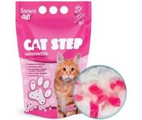 """Cat Step """"Сакура"""" наполнитель силикагелевый 3,8л. (1,63кг)"""