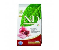 Farmina N&D Cat Chicken & Pomegranate Neutered беззерновой корм для взрослых стерилизованных кошек с курицей и гранатом