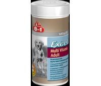 8in1 Excel (Эксель) Мультивитамины для взрослых собак 70 таб.