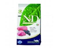Farmina N&D Cat Lamb & Blueberry Adult беззерновой корм для взрослых кошек с ягненком и черникой