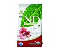 Farmina N&D Cat Chicken & Pomegranate Adult беззерновой корм для взрослых кошек с курицей и гранатом