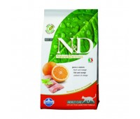 Farmina N&D Cat Fish & Orange Adult беззерновой корм для взрослых кошек с рыбой и апельсином