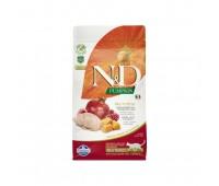 Farmina N&D Cat GF Pumpkin Neutered Quail для стерилизованных кошек с перепелом и тыквой