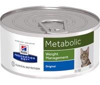 Hill's вет.консервы консервы для улучшения метаболизма (коррекции веса) у кошек, Metabolic Feline 156гр