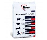 1ST CHOICE Breeders для собак всех пород для кожи и шерсти с ягнёнком рыбой и рисом 20 кг
