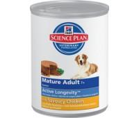 Hill's Science Plan Active Longevity консервы для собак старше 7 лет. 370гр.