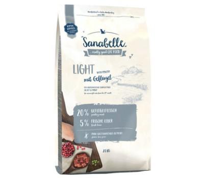 Sanabelle Light для кошек, низкокалорийный