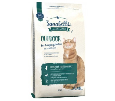 Sanabelle Outdoor для активных кошек