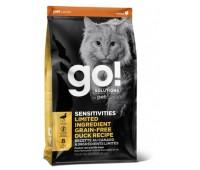 GO!™ GO! SENSITIVITY + SHINE™ LIMITED INGREDIENT Duck Recipe for Cats Беззерновой для котят и кошек с чувствительным пищеварением со свежей уткой