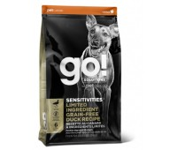 GO!™ LIMITED INGREDIENT Sensitivity + Shine Duck Dog Recipe, Grain Free, Potato Free Беззерновой для щенков и собак с цельной уткой для чувствительного пищеварения