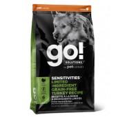 GO!™ LIMITED INGREDIENT SENSITIVITY + SHINE™ Беззерновой для Щенков и Собак с Индейкой для чувств. пищеварения (Sensitivity + Shine Turkey Dog Recipe, Grain Free, Potato Free)