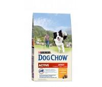 Dog Chow (Дог Чау) для активных и рабочих собак курица