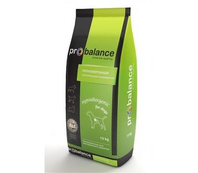 ProBalance Hypoallergenic Для собак с чувствительным пищеварением 15кг