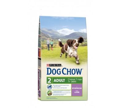 Dog Chow (Дог Чау) для взрослых собак с ягненком