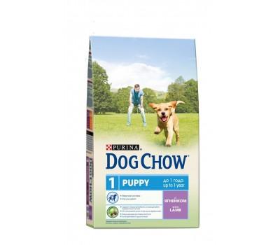 Dog Chow (Дог Чау) для щенков с ягненком