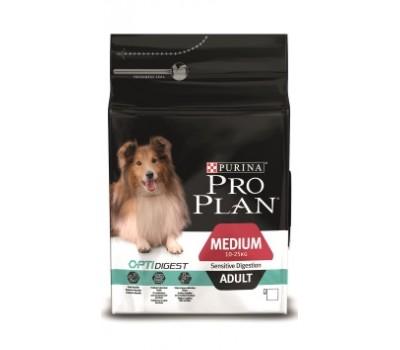 Pro Plan Sensitive для собак с чувств пищевар. ягненок/рис