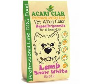 Acari Vet A' DOG COLOR HYPOALLERGENIC Lamb Snow White 5 кг