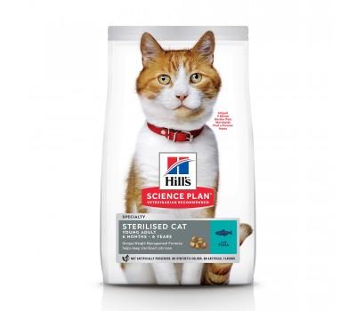 Hill's SP Sterilised Cat Young Adult для Стерелизованных Кошек тунец