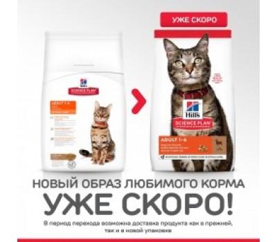 Hill's Science Plan для взрослых кошек с ягненком, Feline Adult Optimal Care with Lamb