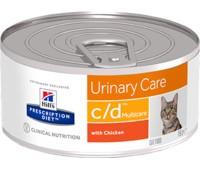 "Hill's вет.консервы консервы C/D для кошек ""Профилактика МКБ"", Multicare c/d Feline with Chicken 156гр"