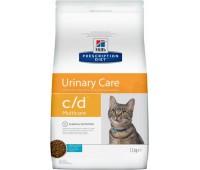 """Hill's Prescription Diet c/D для кошек """"Профилактика МКБ""""с океанической рыбой"""