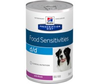 Hill's™ Prescription Diet™ Canine d/d™ утка  370гр.