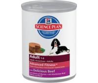 Hill's Science Plan Advanced Fitness консервы для собак мелких и средних пород от 1 до 7 лет 370гр.